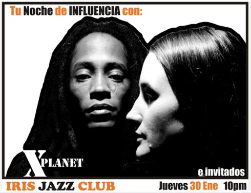 Iris Jazz Club Flyer